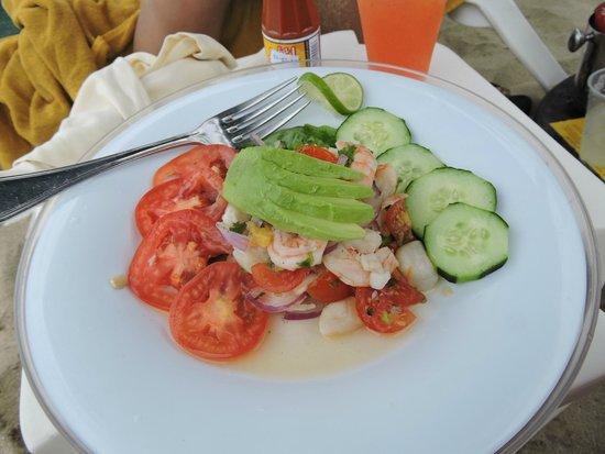 Villa La Estancia: Shrimp La parrilla