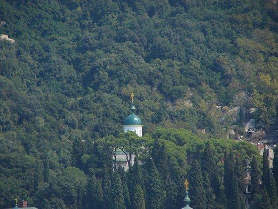 Athos Sea Cruises: Русский монастырь Пантелеймона