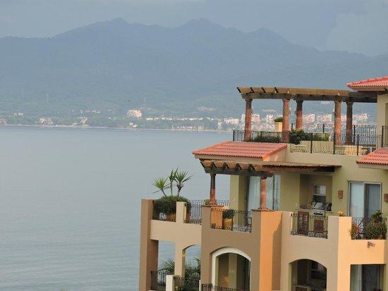 Villa La Estancia Beach Resort & Spa Riviera Nayarit: View from balcony to Bucerias