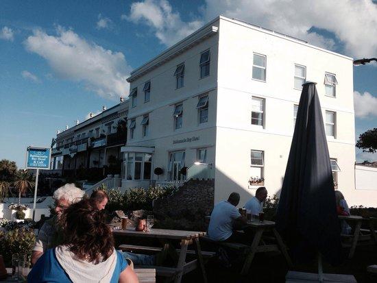 Babbacombe Bay Hotel: The Hotel from next door