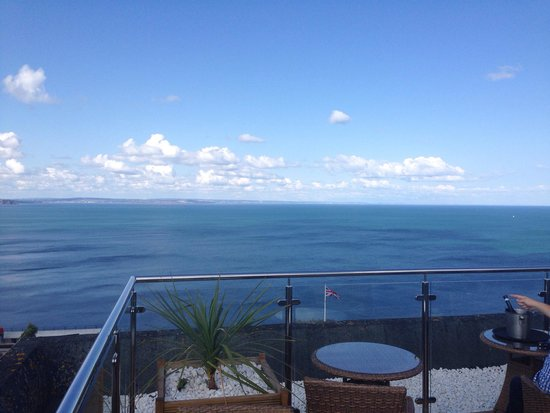 Babbacombe Bay Hotel: From the roof terrace