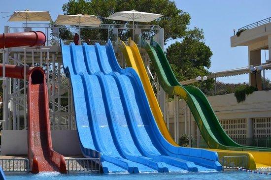Louis Creta Princess Beach Hotel: Pool Slides