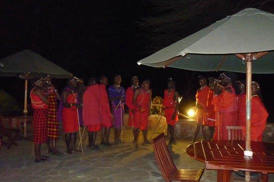 Keekorok Lodge-Sun Africa Hotels: Taniec Masajów