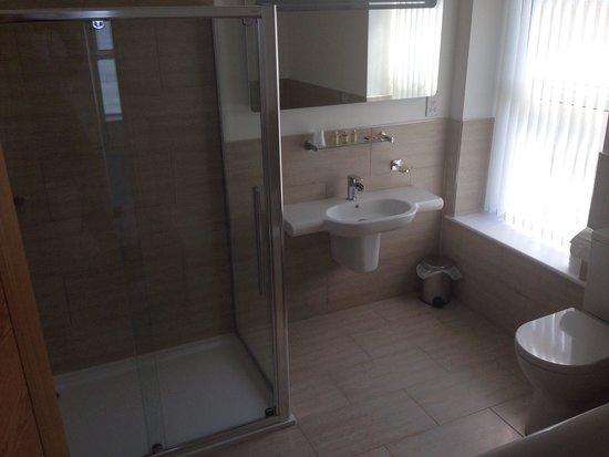Babbacombe Bay Hotel: The bathroom