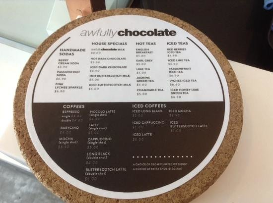 Price Of Awfully Chocolate Cake