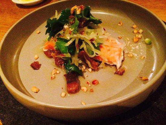 Restaurant Botanica: Crispy Skin Ocean Trout