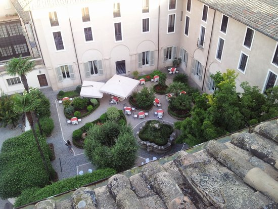 Superb VOI Donna Camilla Savelli Hotel: Courtyard Inner Garden, View From Rooftop  Terrace