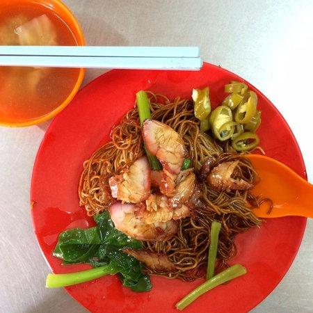 Simply Enak - Food Experiences: Wantan mee at old school resto in China Town. Yum Yum.