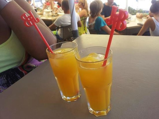 The Clock House: A cool Vodka & Orange on a hot afternoon :)