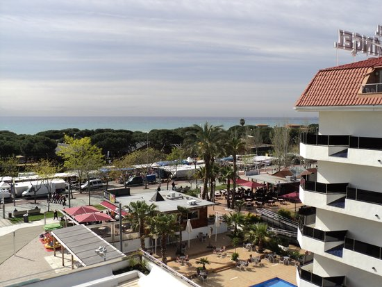 Odissea Park Aparthotel: View from top floor