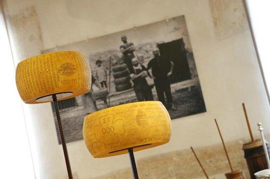 San Benedetto Po, Italia: latte e formaggio