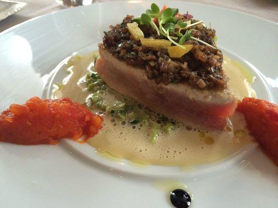 Restaurant Les Semailles : Thon rouge snacké