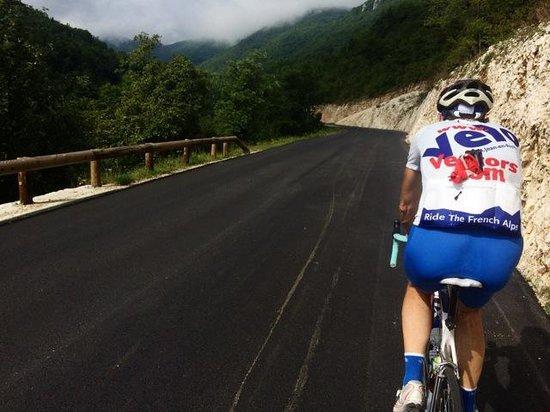Velo Vercors: Roger leading the way!