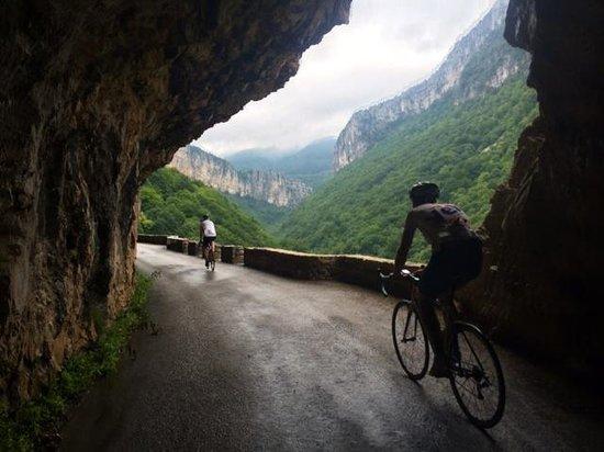 Velo Vercors: scenic roads!