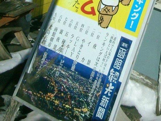 函館ランキング