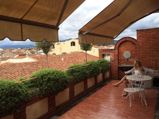 Hotel Orto De Medici: Nice big balcony!