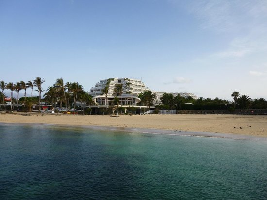 Melia Salinas - Adults recommended: das Hotel vom Meer aus