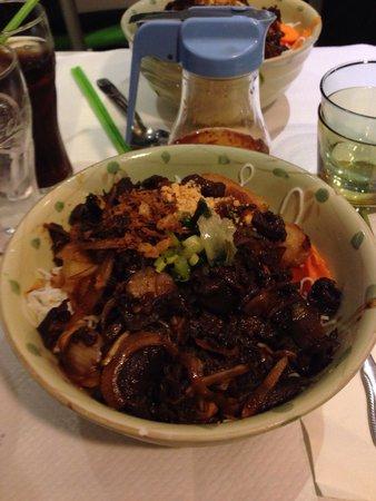 Pho Tai: Bo bun