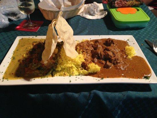 The Railway Tavern: Sri Lankan Beef Curry