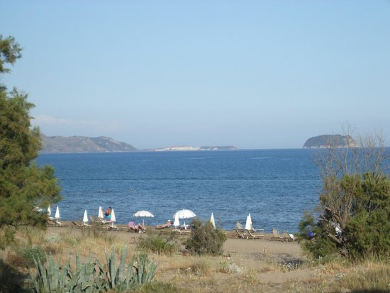 Louis Zante Beach: View from room