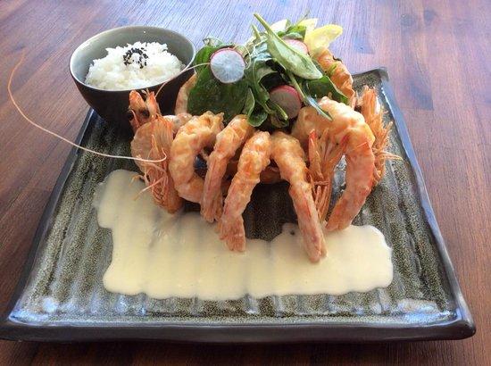 Izakaya Geisha Japanese Restaurant: Ebi mayo (Fried prawn with special mayonnaise sauce)