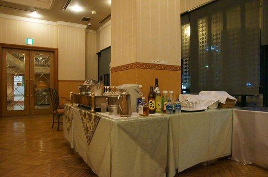 Sirene, Hotel Clement Uwajima Sirene: 色んな飲み物ありました♪