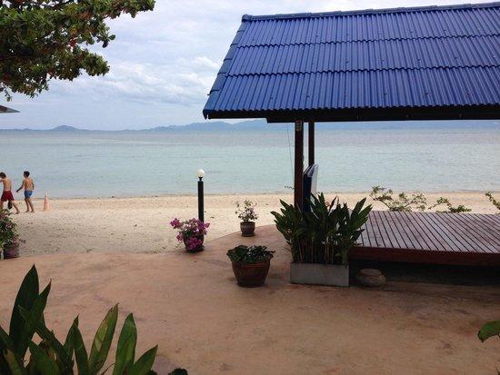 Rung Arun Resort : Vista dal ns bungalow