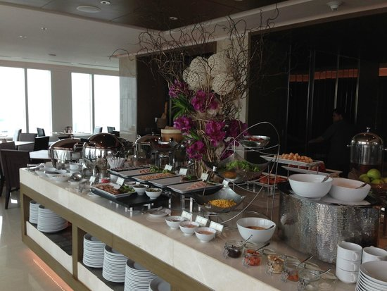 Eastin Grand Hotel Sathorn : Club lounge breakfast: exquisite!