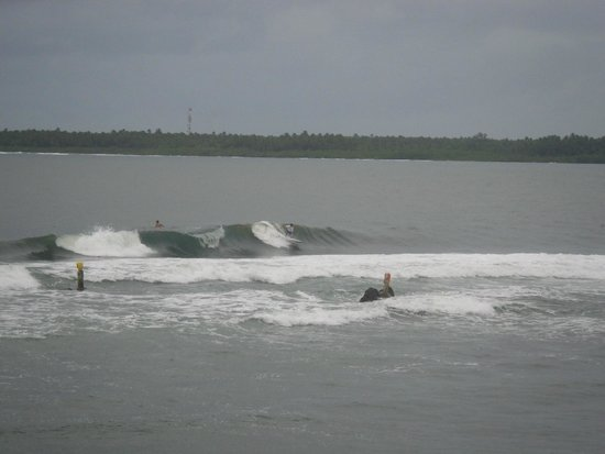 Pirates Cove Beach and Surf Resort: surfing time