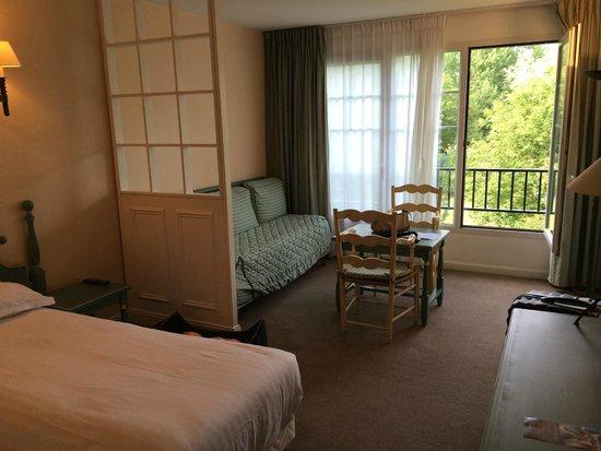 Hôtel du Parc : Chambre