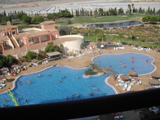 Hotel Bonalba Alicante: Vista espectacular desde habitación 446