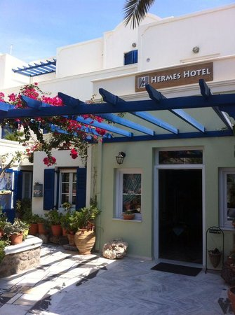 Hermes Hotel : ingresso dell'hotel
