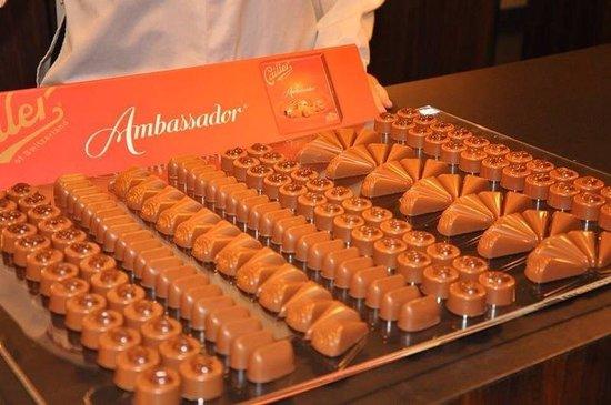Maison Cailler Chocolaterie : Du choix!
