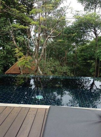 Villa Zolitude Resort and Spa: piscine privee