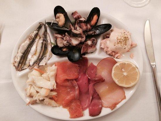 Trattoria da Nino : Antipasto Misto Pesce squisito!