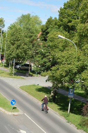 Hotel Gasthof Zur Linde: Dalla finestra...
