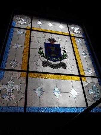 Hotel San Antonio Abad: stained glass window
