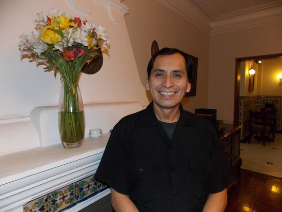 Hotel San Antonio Abad: Nasser - generally helpful