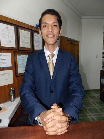 Hotel San Antonio Abad : Paulo - most helpful reception assistant/concierge