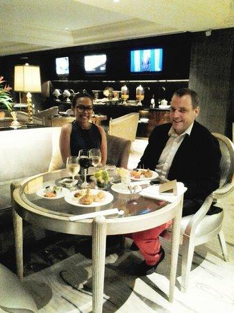 Hotel Mulia Senayan: ruang eksekutif makan malam