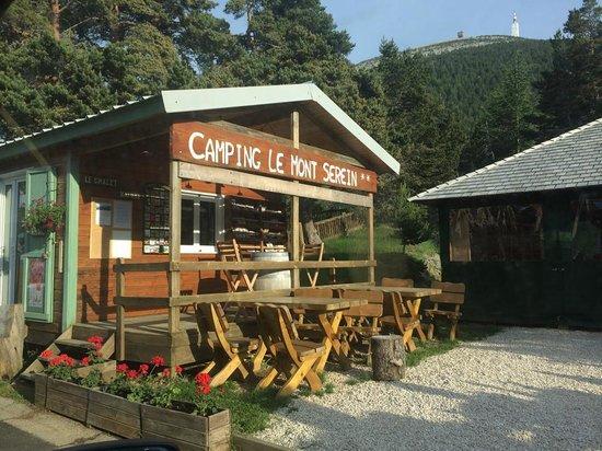 Camping du Mont Serein : Entrée du camping