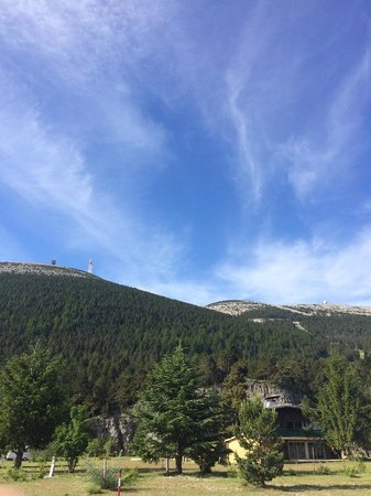 Camping du Mont Serein : La vue