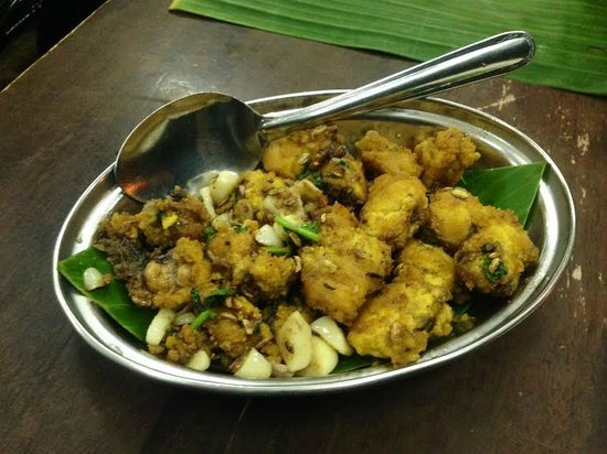 K.Sanba's Curry Specials: Fried Caviar With Herbs /Telur Ikan (My favourite)
