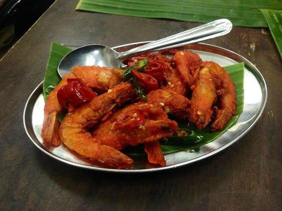 K.Sanba's Curry Specials: Butter prawn