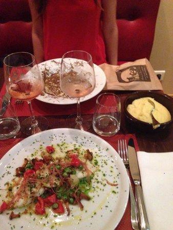 Bistrot Chaud-Vin : Baccalà e risotto