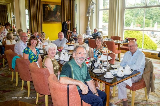 Stoke Park Country Club, Spa and Hotel: Tea at Stoke Park