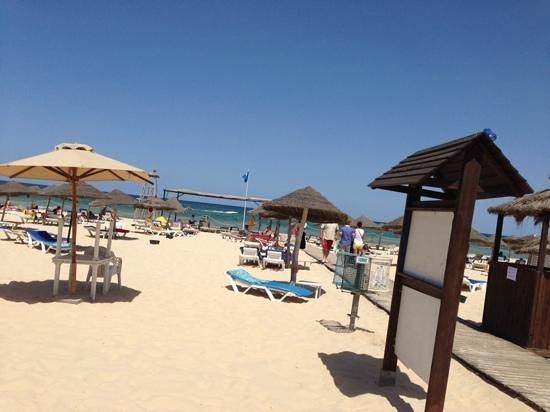 Hotel Marhaba Beach: beach