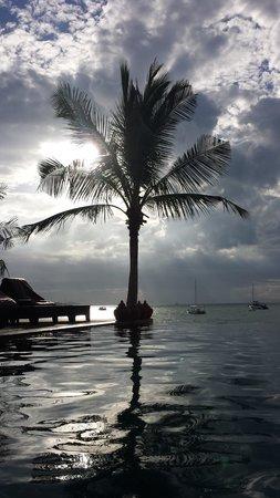 Saboey Resort and Villas : sunset