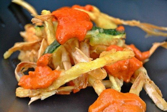 Restaurant Marangels: tempura