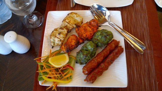 Salmiyah, Kuwait: Mixed Indian Kebab (Grills)